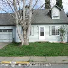 Rental info for 704 Madrone St.