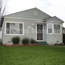 Rental info for Adorable Home in the Beautiful City of Lakewood! in the 90713 area