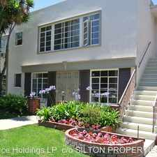 Rental info for 1615 Veteran Ave in the Los Angeles area