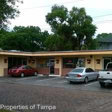 Rental info for 3502 Nebraska Avenue - Unit D in the Tampa Heights area