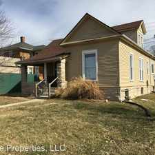 Rental info for 609 South Walnut Street in the Bloomington area
