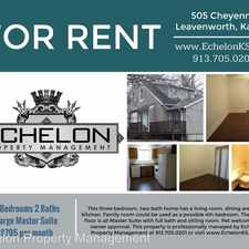 Rental info for 505 Cheyenne in the Leavenworth area