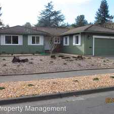 Rental info for 3618 Sleepy Hollow Dr. in the Santa Rosa area