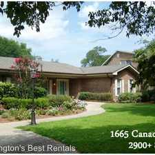 Rental info for 1665 Canaday Road