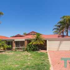 Rental info for BEAUTIFULLY PRESENT 4X2 FAMILY HOME!!!!! in the Beeliar area