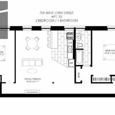 Rental info for 700 West 178th Street #52 in the New York area