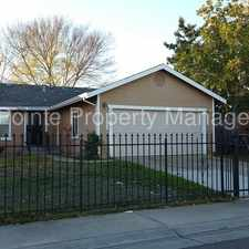 Rental info for Spacious home with large fenced yard in the Oak Knoll area