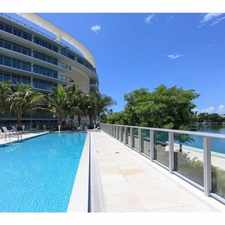 Rental info for 6620 Indian Creek Dr in the Miami Beach area