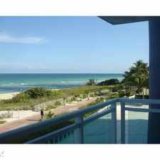 Rental info for 6917 Collins Ave