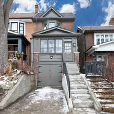 Rental info for Parkside Dr & Garden Ave in the High Park-Swansea area