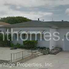 Rental info for 5473 Mildred Street in the Morena area