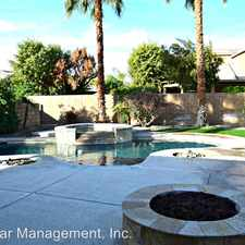 Rental info for 44865 Los Manos Dr in the La Quinta area