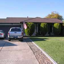 Rental info for 818 Bobolink Court in the Fairfield area
