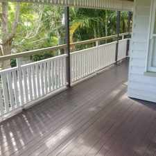 Rental info for STYLISHLY RENOVATED HOME IN QUIET AND LEAFY AREA OF RED HILL! in the Brisbane area