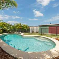 Rental info for UNIQUE OPPORTUNITY - GREAT HOUSE, POOL, REAR YARD ACCESS + WORKSHOP - TICKS ALL BOXES in the Gold Coast area