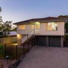 Rental info for CAPALABA - GREAT FAMILY HOME in the Brisbane area