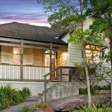 Rental info for Three bedroom home offers fabulous character and modern appeal in the Lilyfield area