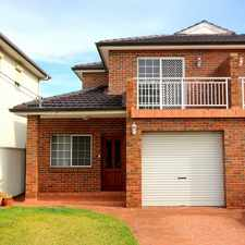 Rental info for Spacious Duplex. in the Bankstown area