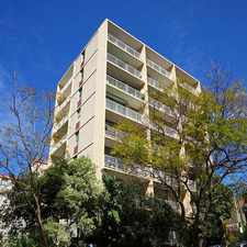 Rental info for Spacious, Light-filled Studio with Car Space in the Darlinghurst area