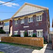 Rental info for DEPOSIT RECEIVED - GREAT ONE BEDROOM + SUNROOM APARTMENT MINUTES' WALK TO BONDI BEACH! in the Sydney area
