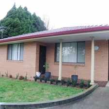 Rental info for Close to Duval high School and PLC in the Armidale area