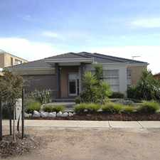 Rental info for Stunning Porter Davis Display Home in the Melbourne area