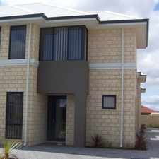 Rental info for FANTASTIC LOCATION, PRICE JUST REDUCED, SUCH A BARGAIN! in the Canning Vale area