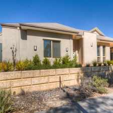 Rental info for This stylish home oozes quality and is only 5 minutes from the Swan Valley in the Ellenbrook area