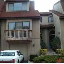 Rental info for Real Estate Rental - Three BR, 2 1/Two BA Townhouse in the Woodmere area