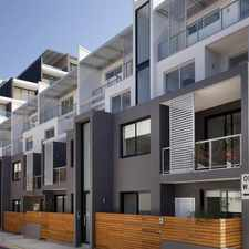Rental info for (The Cazzie) Two Bedroom Split Level Apartment in the Sydney area