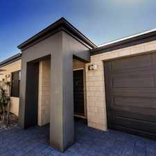 Rental info for NOT TO BE MISSED in the Perth area