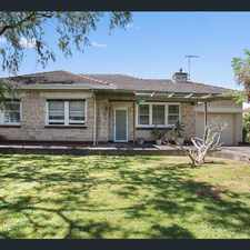 Rental info for Hidden Gem in Sought After Suburb in the Magill area