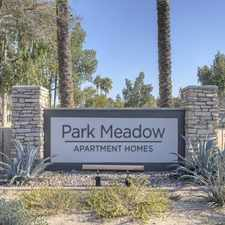 Rental info for Park Meadow in the Gilbert area