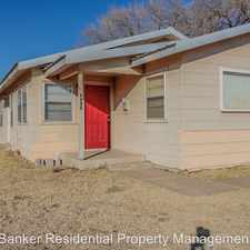 Rental info for 4424 36th Street - B in the 79413 area