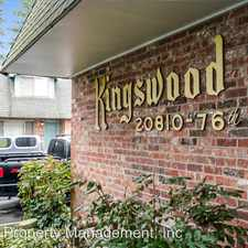 Rental info for 20810 76th Ave. W.