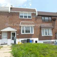Rental info for Spacious 3 bedroom rowhome in the Torresdale area