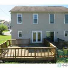 Rental info for 1114 Inner Cir Built 1993 Corner unit townhouse in the Curtis Bay area