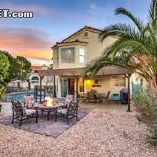 Rental info for $4650 3 bedroom House in Northwest Las Vegas in the Las Vegas area