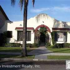 Rental info for 2351 Chestnut - 2 in the Long Beach area