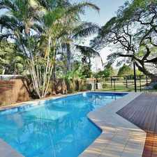 Rental info for Low Maintenance Living - Solar at .52c Pool Pet Friendly in the Brisbane area
