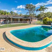 Rental info for 3 Bed, Office, AC, Pool, Spa & 3 Acres Plus! in the Burpengary East area