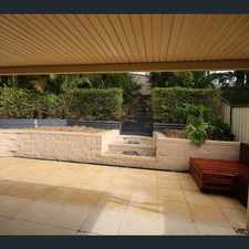 Rental info for Enjoy outdoor living here! in the Brisbane area