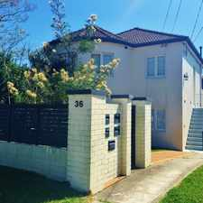 Rental info for Spacious Ground Floor Apartment in the Balgowlah area