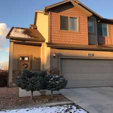 Rental info for Beautiful end unit townhome with open floor plan and vaulted ceilings. Granite counter tops in kitchen and the full bathrooms. Updated carpet throughou