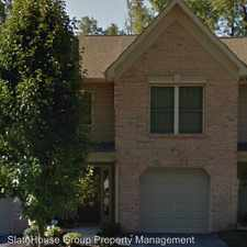 Rental info for 525 Pond View Court