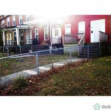 Rental info for 2859 W. Garrison Ave. 21215 Cylburn in the Cylburn area
