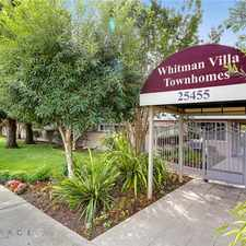 Rental info for Whitman Villa Townhomes