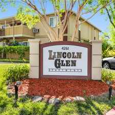 Rental info for Lincoln Glen in the Fremont area