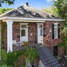 Rental info for $3500 2 bedroom Townhouse in Uptown in the New Orleans area