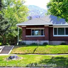 Rental info for 2486 Taylor Ave.